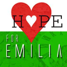 Let's Give the region of Emilia, Italy  hope