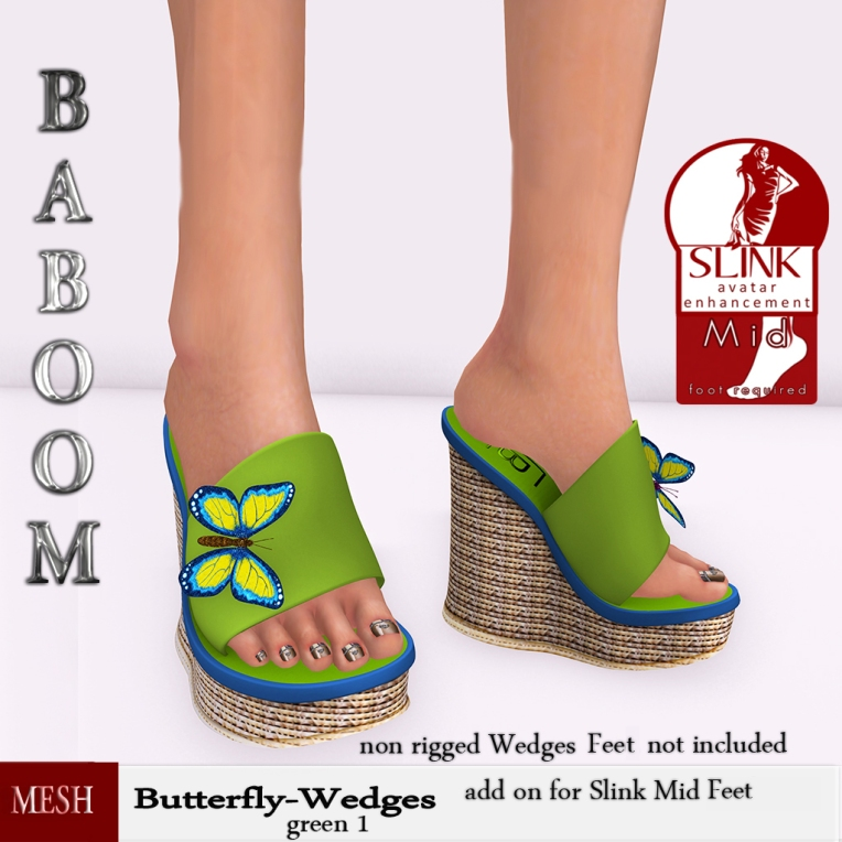 Baboom-Butterfly-green1-Wedges-
