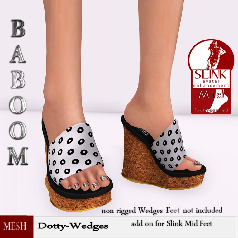 Baboom-Dotty -Wedges-