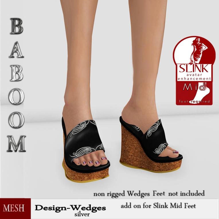 Baboom-Swirl-silver -Wedges-