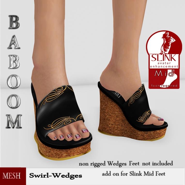 Baboom-Swirl -Wedges-