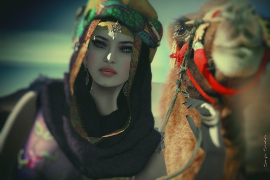 Cao~Traveling the desert
