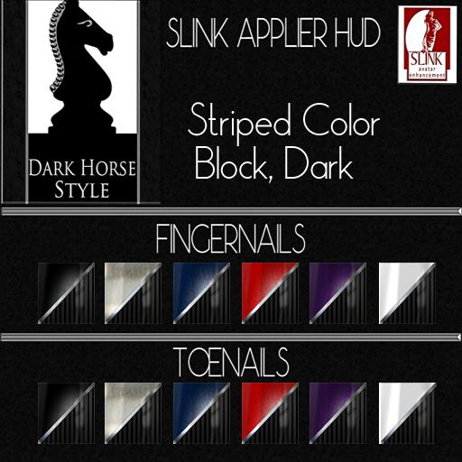 Striped Color Block Dark ad