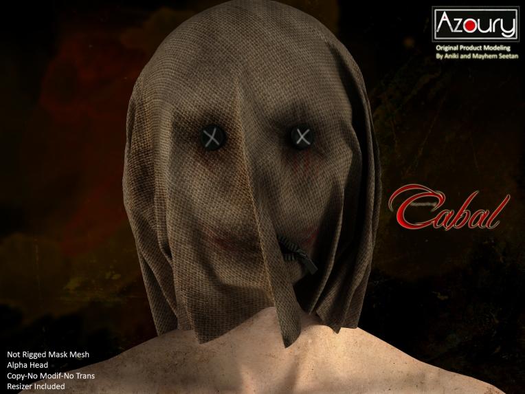 AZOURY - Cabal Mask