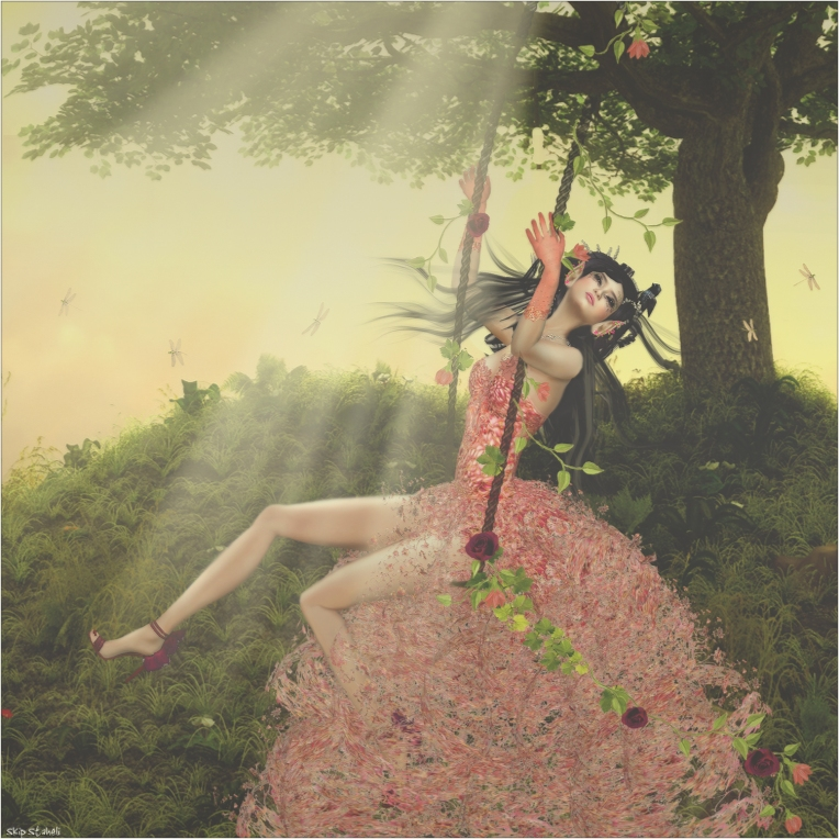 Why is Spring the best season? Because it heralds the awakening of the faeries to playfully bring new whimsy to our world.