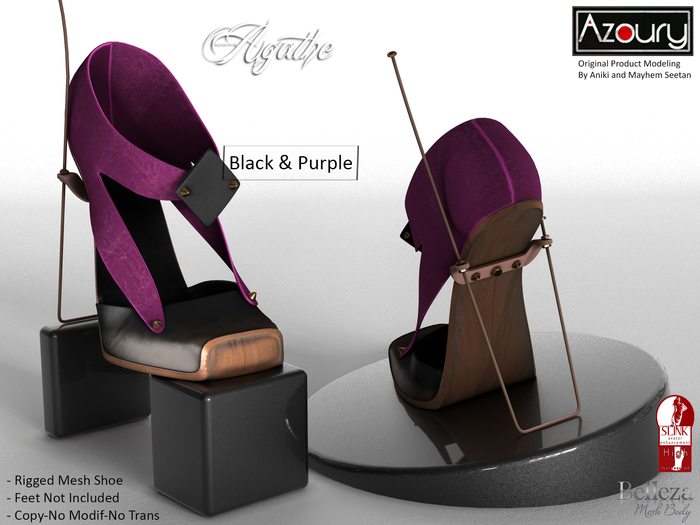 AZOURY_-_Agathe_Shoe_-_Black___Purple