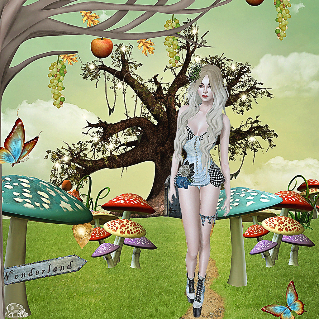 virtual alice wonderland escort