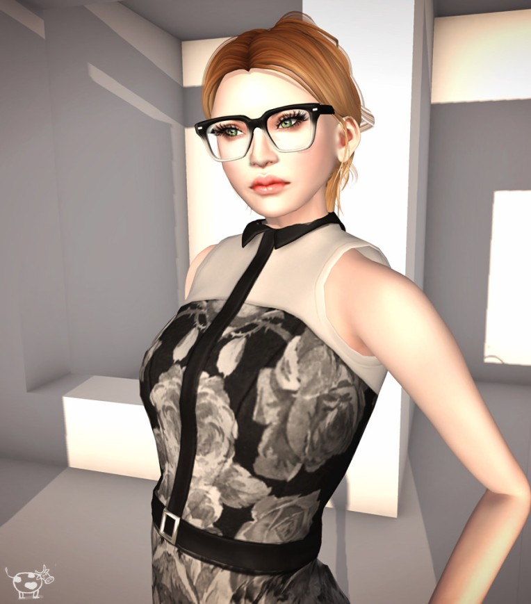 Hair: Ison, Poppy  @ 2015 Hair Fair . Glasses: Ison, Quinton glasses .
